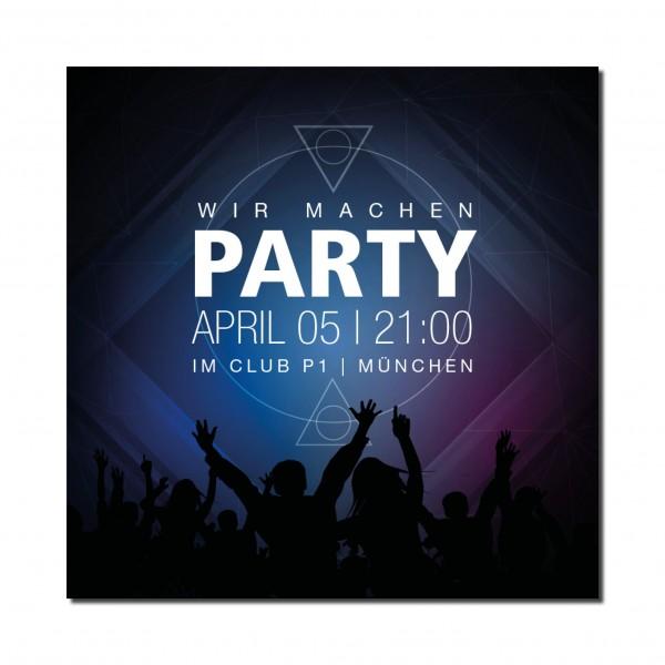 Einladung Einladungskarte 18. Geburtstag House