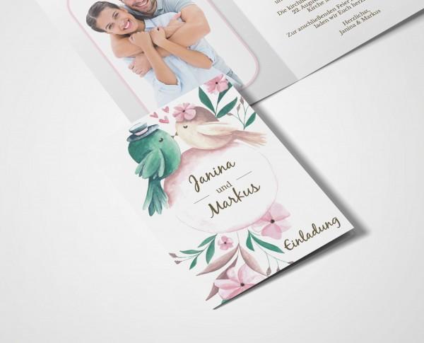 Einladungskarten Hochzeit Hochzeitskarten mit Druck - Tweet