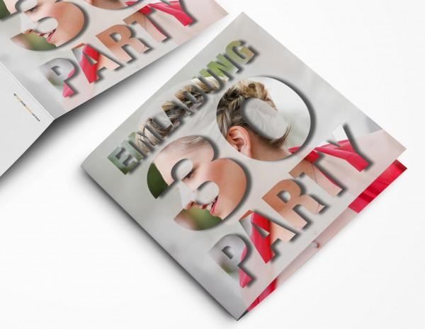 Geburtstag Einladungskarten - 30. Geburtstag eigenes Bild