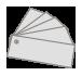 Kartenfächer 210 x 90