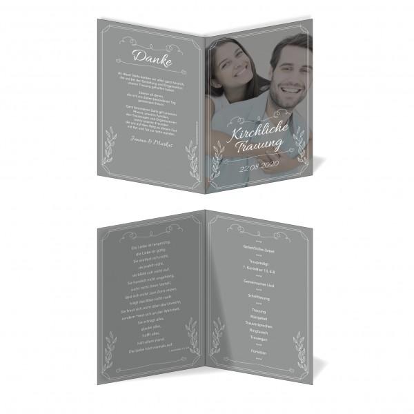 Kirchenprogramm Hochzeit - Großes Bild