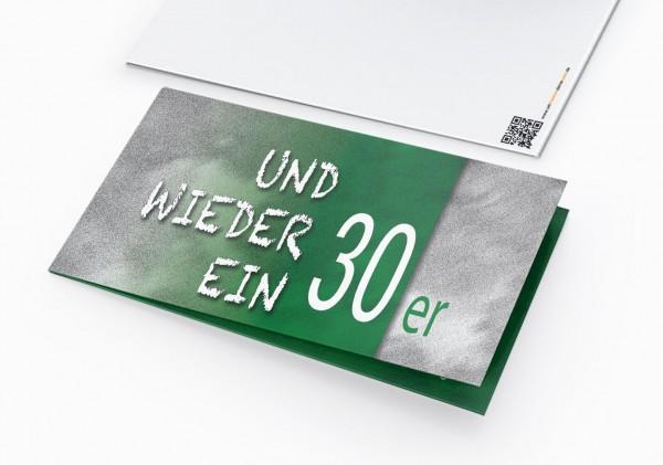 Geburtstag Einladungskarten - 30. Geburtstag und wieder ein 30er