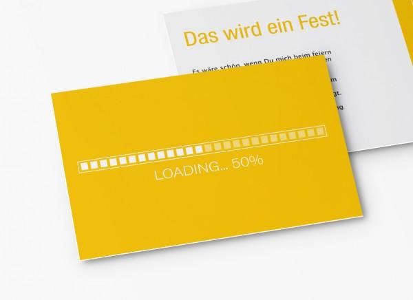 Einladungskarten 50. Geburtstag Loading
