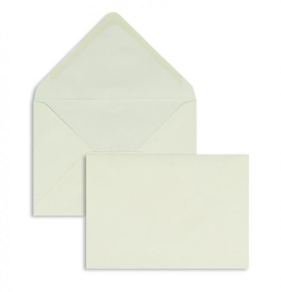 DIN A6 Briefumschläge Nassklebend - creme