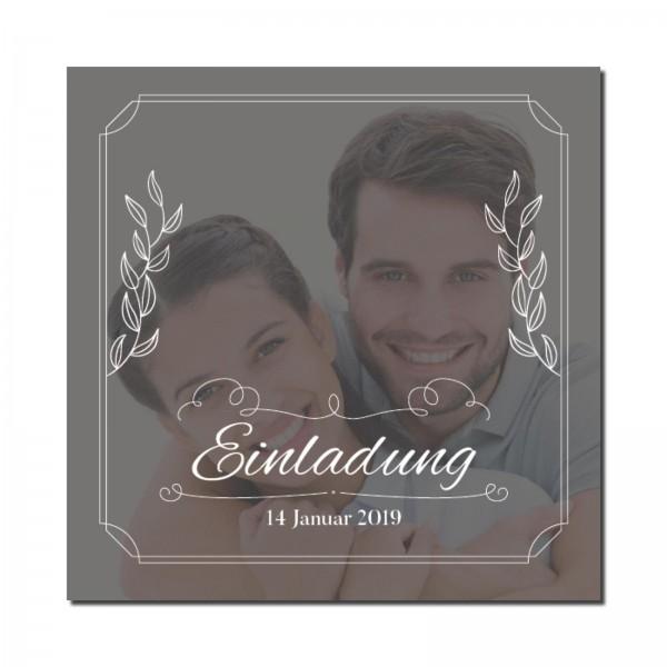 Einladungskarten Hochzeit Hochzeitskarten mit Druck - Großes Foto