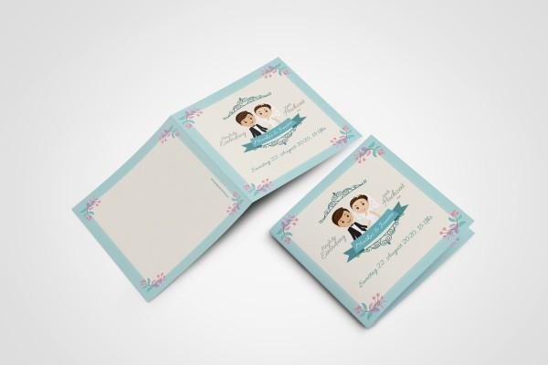 Hochzeitskarte Großer Tag Einladungskarten Hochzeit Hochzeitskarten mit Druck -