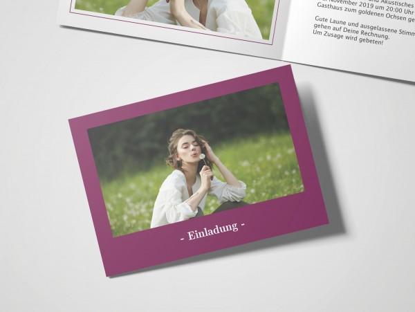 Einladungskarte Elegant