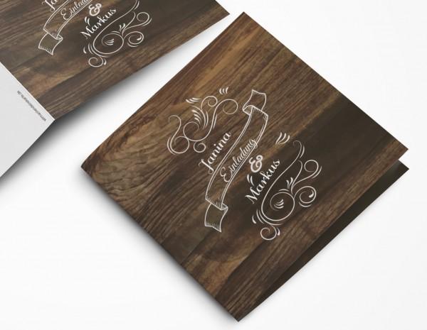 Einladungskarten Hochzeit Hochzeitskarten mit Druck - Hochzeits Gaudi