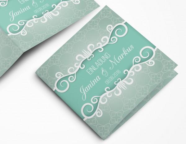 Einladungskarten Hochzeit Hochzeitskarten mit Druck - Hoffnung