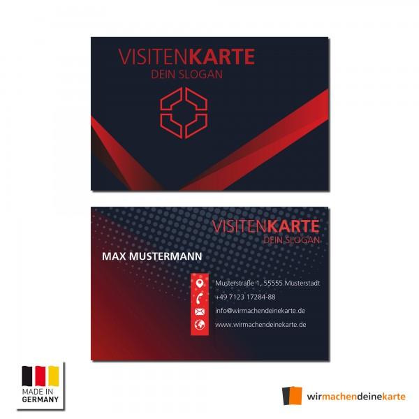 Visitenkarten individuell Business Karten 300g/qm 85 x 55 mm